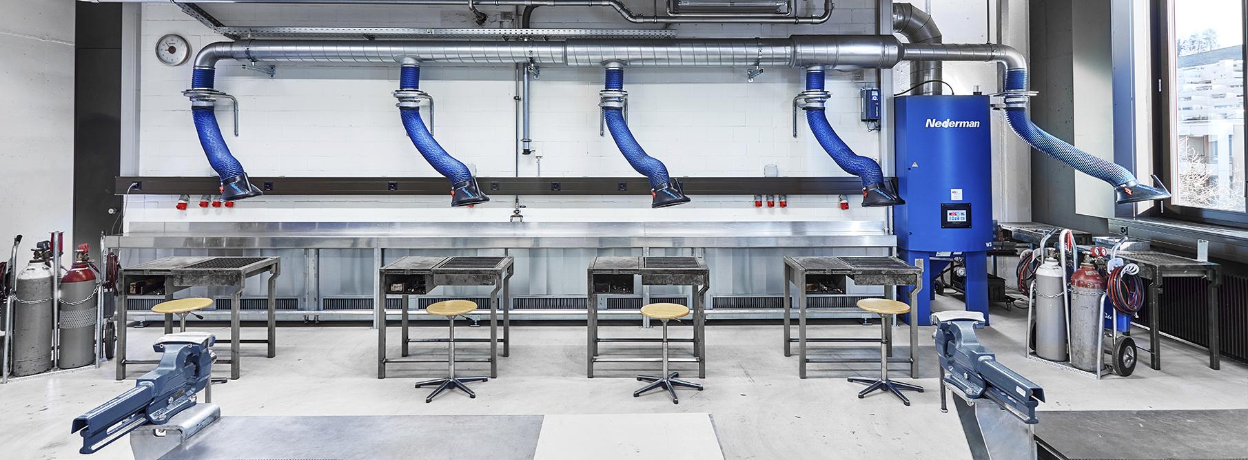 <h1>KSU Umwelttechnik AG</h1> <h2>Saubere Luft für klare Köpfe</h2>