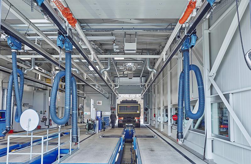 Automatischer Wagenrücklauf für Prüfstrassen ALC Grolley