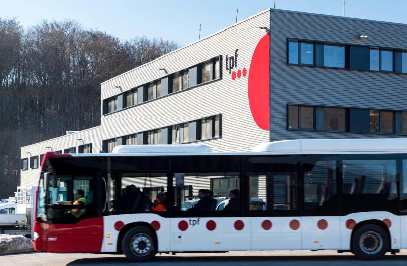 Buswerkstatt Freiburgische Verkehrsbetriebe Freiburg