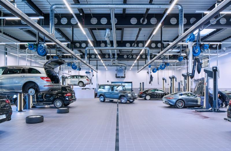 Automobilwerkstatt MB Autocenter Zug