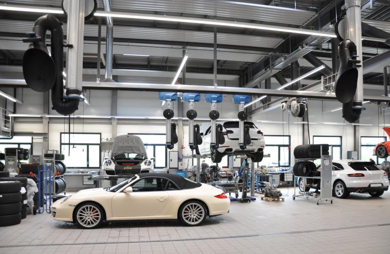 Automobilwerkstatt Porsche Zentrum Bern