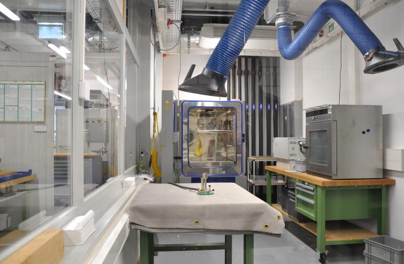Prüflaboremissionen Stäubli Electrical Connectors Allschwil